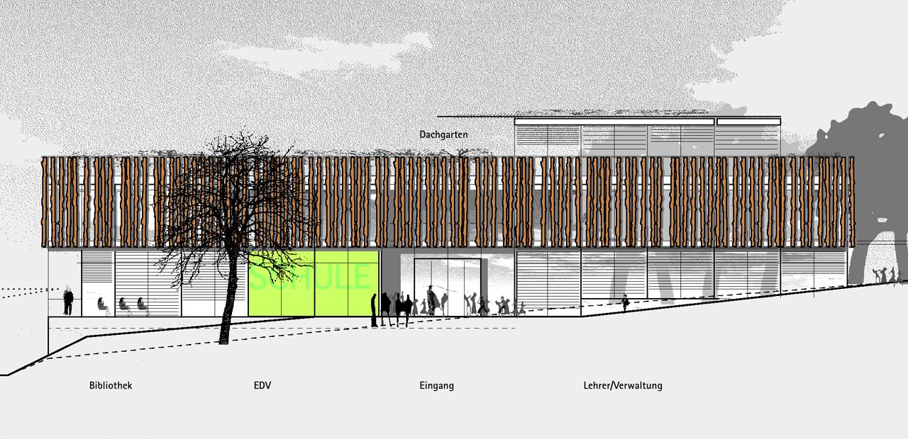 Ffentliche bauten a z architekten - Architektur ansicht ...