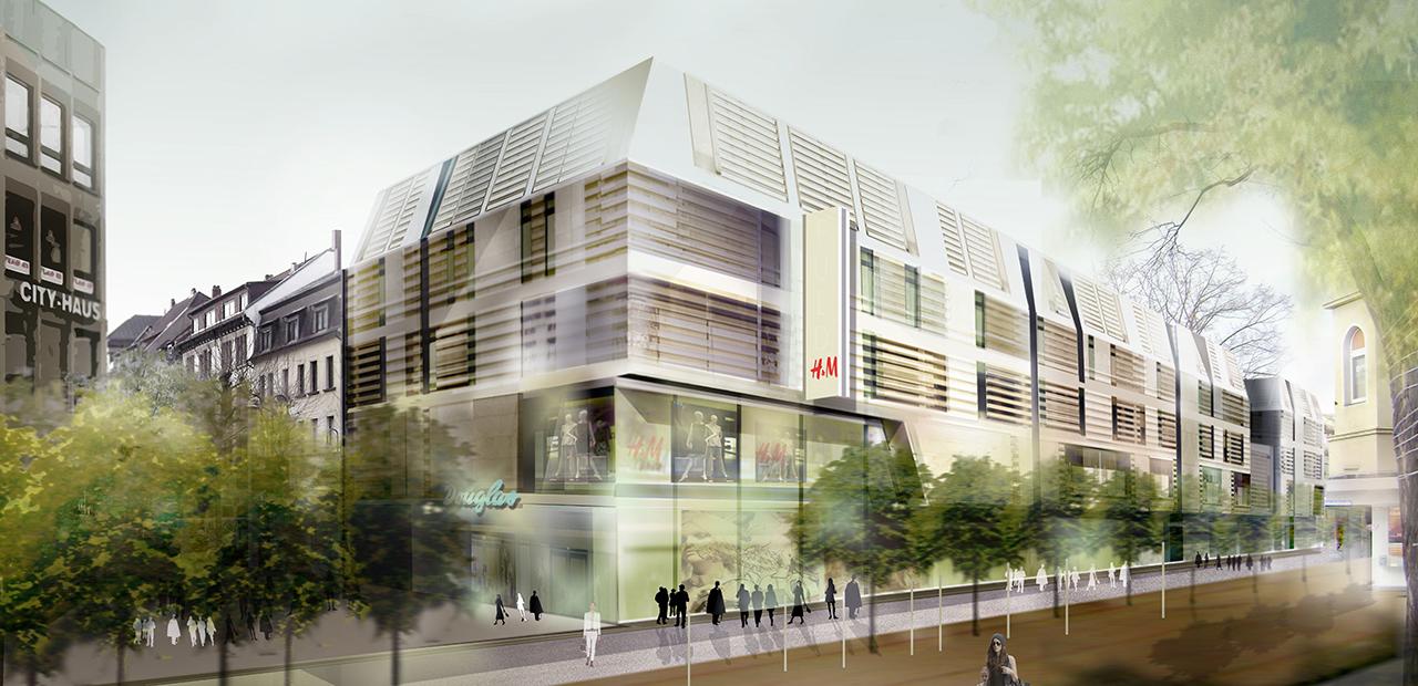 Architekten Fulda einkaufszentrum fulda a z architekten