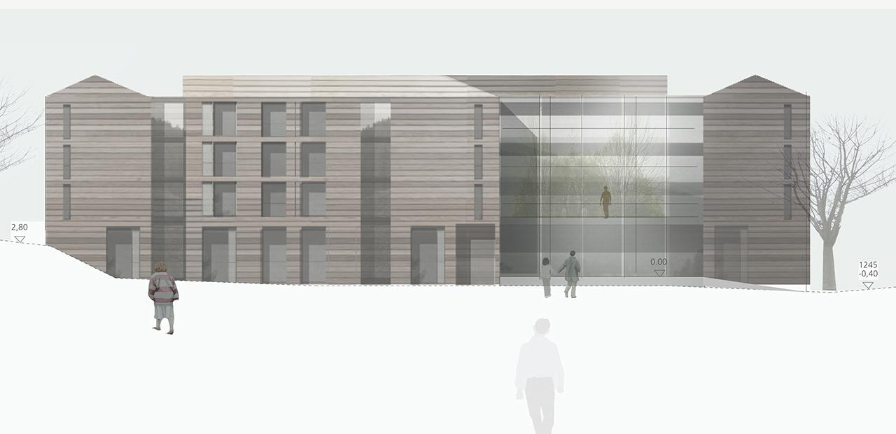 Pflegeheim schweiz a z architekten - Architektur ansicht ...