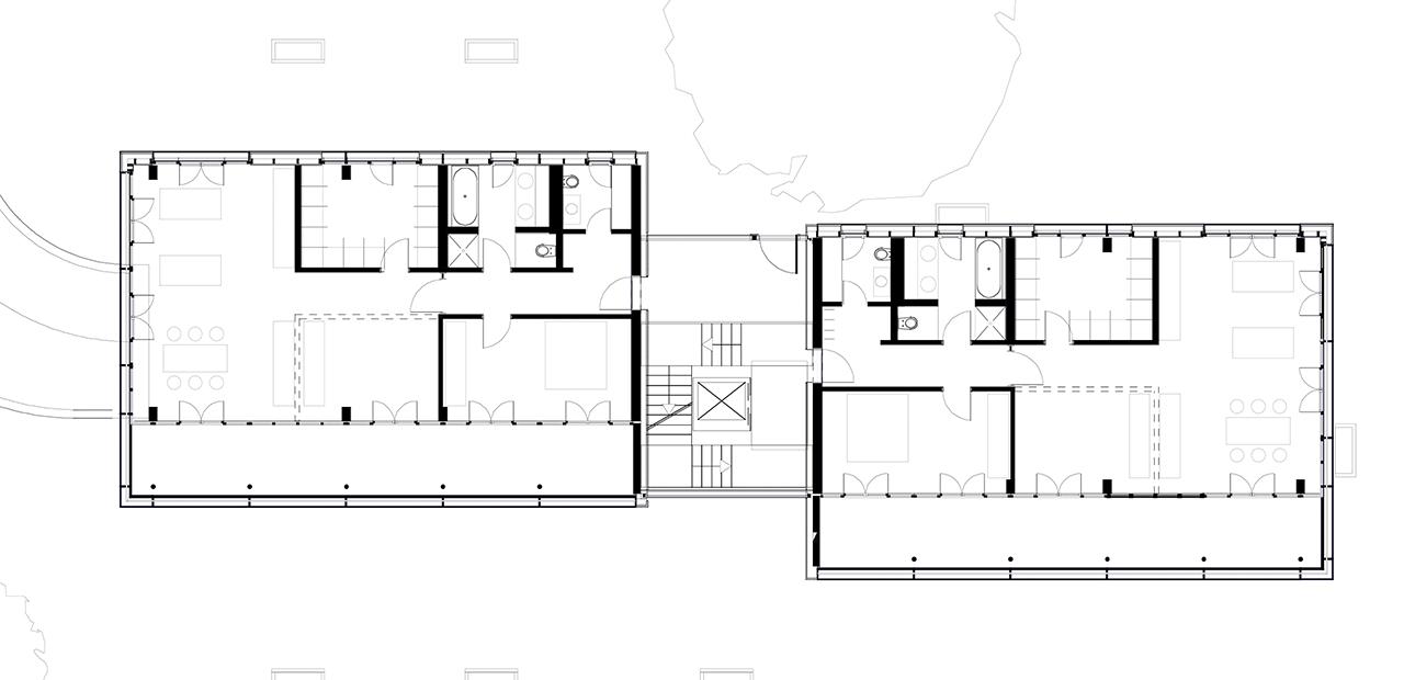 wohnbebauung komponistenviertel a z architekten. Black Bedroom Furniture Sets. Home Design Ideas