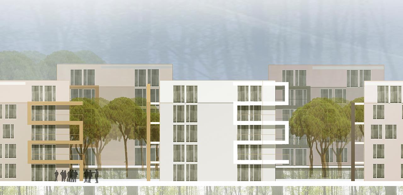 Quartier j a z architekten - Architektur ansicht ...